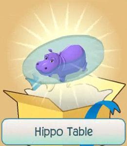 Hippo Table Animal Jam Wiki FANDOM Powered By Wikia - Hippopotamus pool table