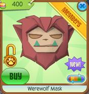 Werewolf Mask new red