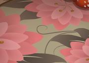 Mushroom-Hut Flower-Carpet