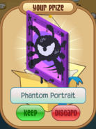 Phantom portrait purple