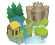 Sky Kingdom icon art