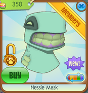 Bahari-Bargains Nessie-Mask Green