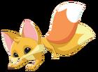 Fox art twin tails