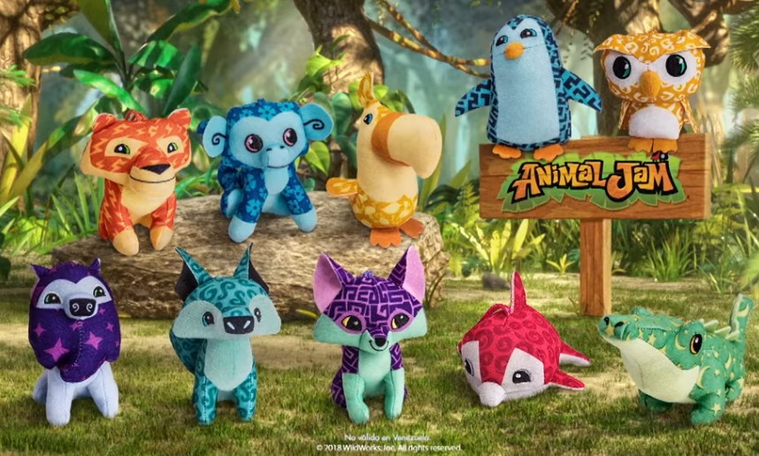 Animal Jam Soft Toy McDonalds Happy Meal Toy 2018 UK Brand New and Sealed