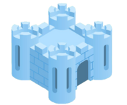 Snow Fort artwork cutout