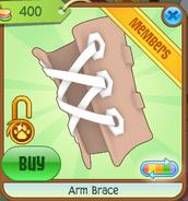 Arm Brace orange