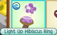 Light Up Hibiscus Ring new name