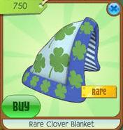 Rare clover blanket
