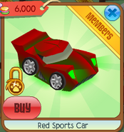 Red sports car 4