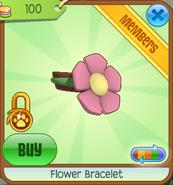 Shop Flower-Bracelet Pink