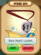 Rare heart locket daily spin