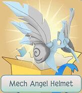Gift Mech-Angel-Helmet Blue