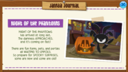 Nightofthephantoms jamaa journal