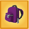 Backpack unknown purple