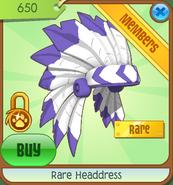 Shop Rare-Headdress