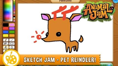 Sketch Jam - Pet Reindeer!
