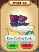 Rarecowboybootswheel