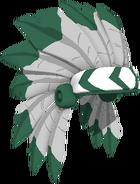 Silver Headdress
