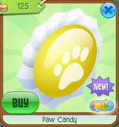 Paw Candy (Yellow)