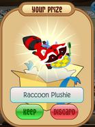 Red Raccoon Plushie