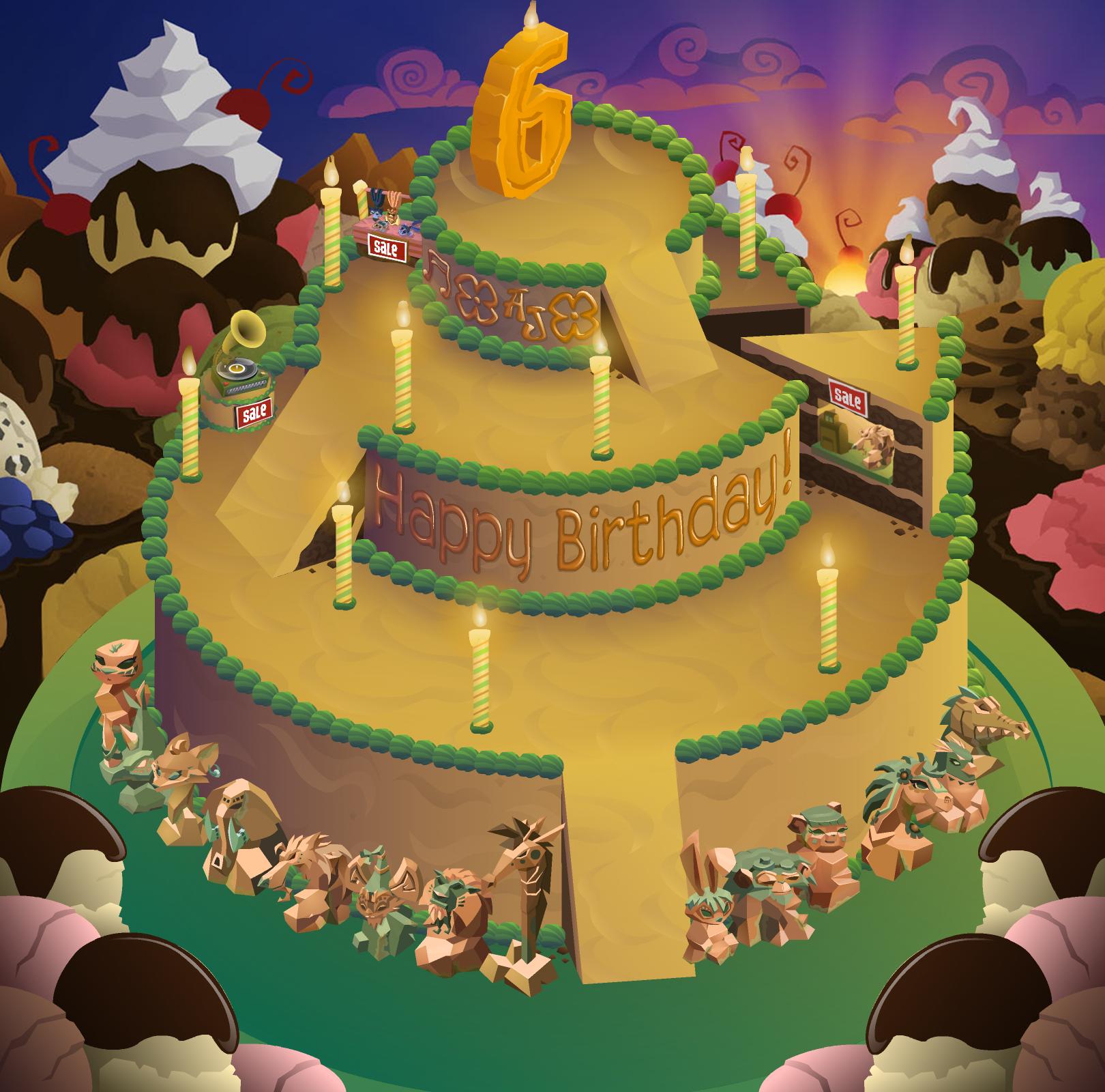 Image Aj Birthday Party Panorama Backgroundg Animal Jam Wiki