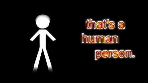 That's a human person