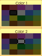Pet phantom colors