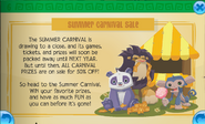 Summer carnival sale