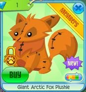 Giant Arctic Fox Plushie 5