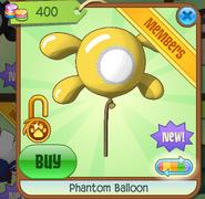 Phantom Balloon yellow