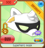Superhero mask 06