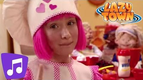 Lazy Town Cooking By The Book Music Video