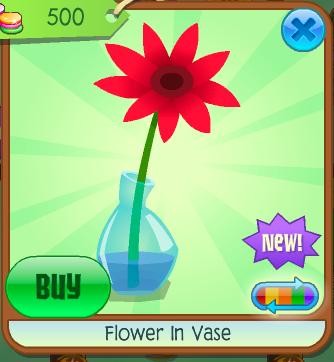 Flower In Vase Animal Jam Wiki Fandom Powered By Wikia
