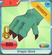 Dragon Glove teal