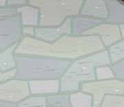 Mushroom-Hut Slate-Floor