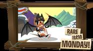 Rare Scary Bat Wings