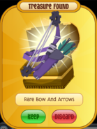 Treasure Rare-Bow-And-Arrows Purple