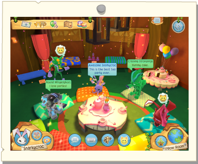 Animal Jam Pillow Talk : Image - Play Wild Pillow Room.png Animal Jam Wiki ...