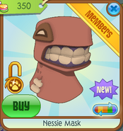 Bahari-Bargains Nessie-Mask Orange