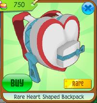 RareHeartShapedBackpack
