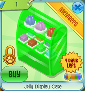 BHS Jelly Display Case green