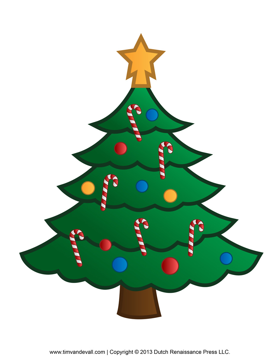 Christmas Tree Clip Art 2 1 Jpg