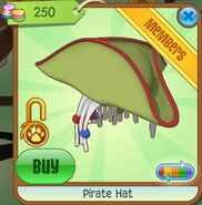 Pirate Hat (Lime-Green)