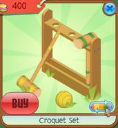 Shop Croquet-Set Stand Green-Yellow