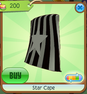 Shop Star-Cape Black