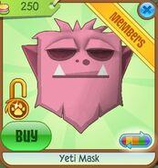 Yeti Mask new pink