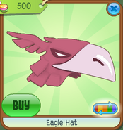 Museum-Shop Eagle-Hat Pink