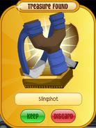 Phantom-Portal Lion Slingshot Blue