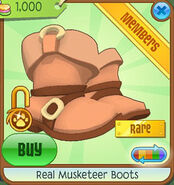 Shop Real-Musketeer-Boots Orange