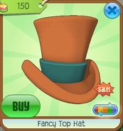 Hat-Shop Fancy-Top-Hat Orange